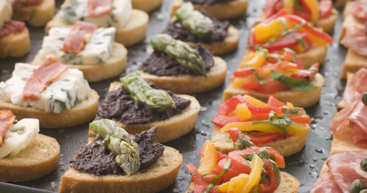 Marie. Selection of Crostini
